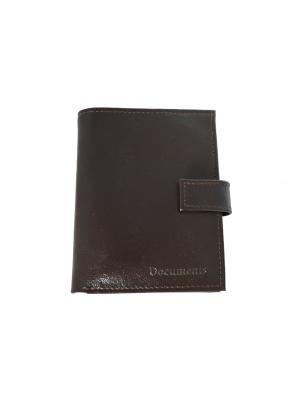 Бумажник водителя КФК. Цвет: темно-коричневый