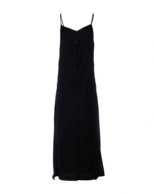 Длинное платье SOUVENIR. Цвет: черный
