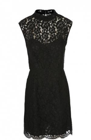 Платье Sandro. Цвет: черный