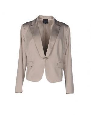 Пиджак SILK AND SOIE. Цвет: серый