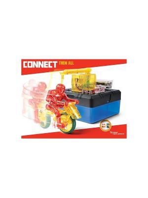 Научный опыт Формула радиуса со светом, на батарейках, в коробке Amazing Toys. Цвет: синий, темно-серый, красный