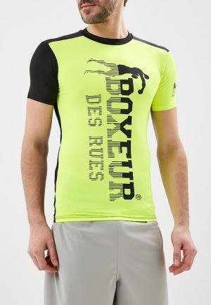 Футболка спортивная Boxeur Des Rues. Цвет: желтый