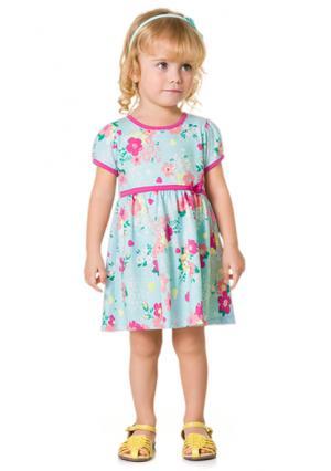 Платье KYLY. Цвет: розовый (розовый), синий (голубой)
