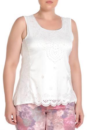 Блуза RITA PFEFFINGER. Цвет: белый