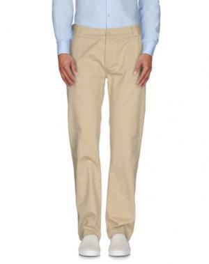 Повседневные брюки C1RCA. Цвет: бежевый