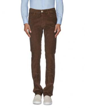 Повседневные брюки APRIL 77. Цвет: какао