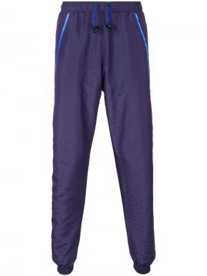 Спортивные брюки Signature Cottweiler. Цвет: розовый и фиолетовый