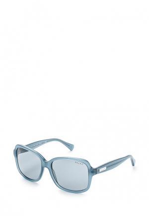 Очки солнцезащитные Ralph Lauren. Цвет: голубой