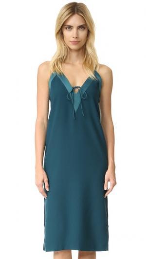 Платье Yesterdays findersKEEPERS. Цвет: нефть