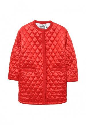 Куртка утепленная Gulliver. Цвет: красный
