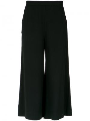 Cropped wide leg trousers Andrea Marques. Цвет: none