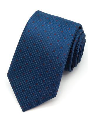 Галстук Angelo Bonetti. Цвет: синий, коричневый