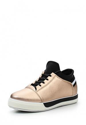 Кеды Ideal Shoes. Цвет: золотой