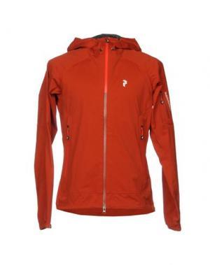 Куртка PEAK PERFORMANCE. Цвет: ржаво-коричневый