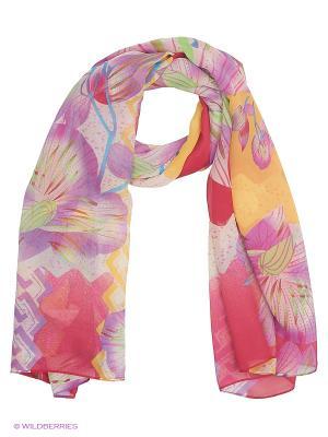 Парео текстильное Vittorio Richi. Цвет: розовый, сиреневый