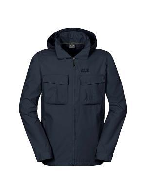 Куртка ATLAS ROAD 2 JKT M Jack Wolfskin. Цвет: синий