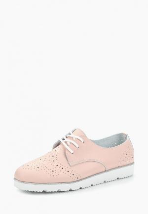 Ботинки Destra. Цвет: розовый