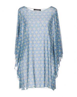 Блузка FISICO-CRISTINA FERRARI. Цвет: темно-синий
