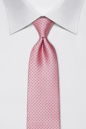Галстук Vincenzo Boretti. Цвет: розовый