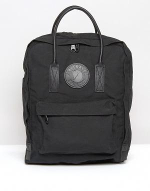 Fjallraven Черный рюкзак Kanken No.2. Цвет: черный