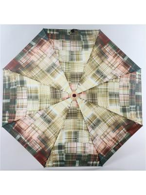 Зонт Zest. Цвет: бордовый, светло-бежевый, серо-зеленый