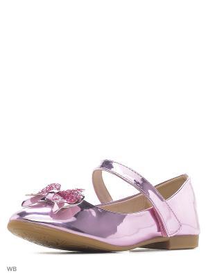 Туфли Vitacci. Цвет: розовый