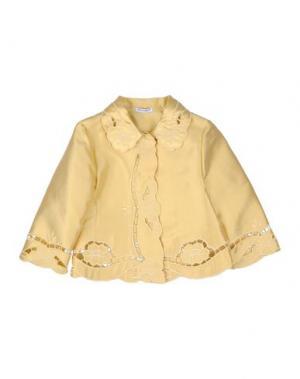 Пиджак DOLCE & GABBANA. Цвет: бежевый