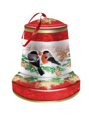 Чай Hilltop колокольчик Морозный рассвет Зимняя вишня 100 гр.. Цвет: черный