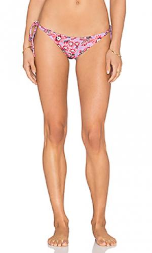 Низ бикини jess Tori Praver Swimwear. Цвет: фиолетовый