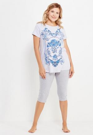 Пижама Infinity Lingerie. Цвет: серый