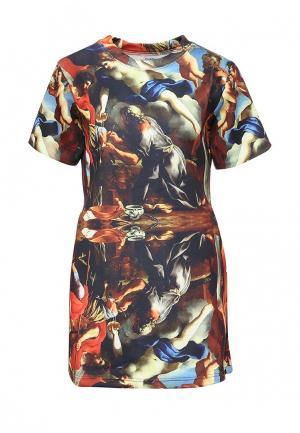 Платье Sixth June. Цвет: разноцветный