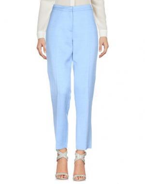Повседневные брюки ATTIC AND BARN. Цвет: небесно-голубой