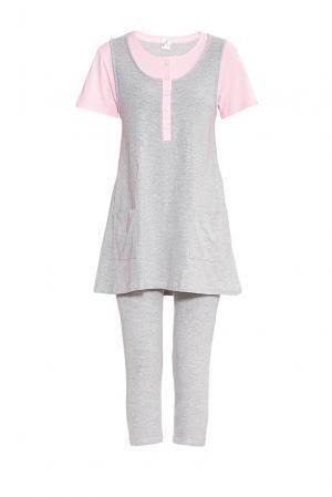 Комплект для беременных из хлопка (футболка и брюки) 175811 Blackspade