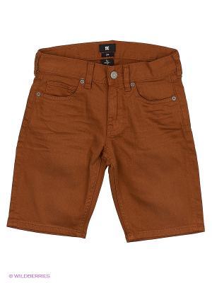 Шорты DC Shoes. Цвет: коричневый