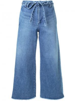 Укороченные джинсы Fabiane Roux. Цвет: синий