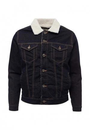 Куртка джинсовая Celio. Цвет: синий