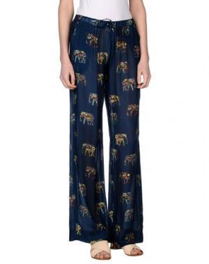 Повседневные брюки MOSAIQUE. Цвет: темно-синий