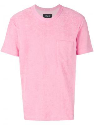 Махровая футболка Howlin Howlin'. Цвет: розовый и фиолетовый