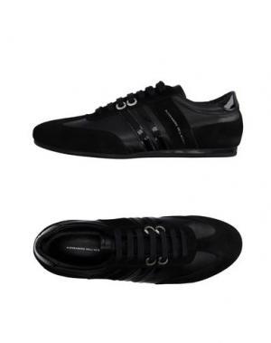 Низкие кеды и кроссовки ALESSANDRO DELL'ACQUA. Цвет: черный