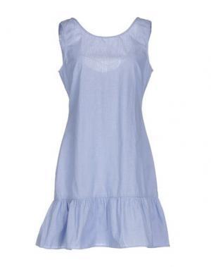 Короткое платье DRY LAKE.. Цвет: синий