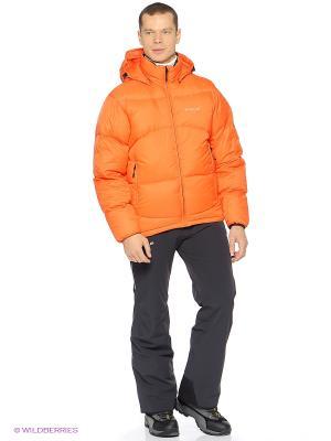 Пуховик HALTI. Цвет: оранжевый