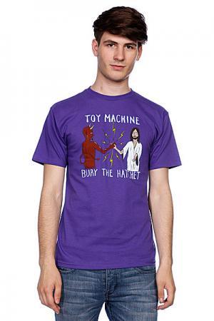 Футболка  Bury Hatchet II Purple Toy Machine. Цвет: фиолетовый