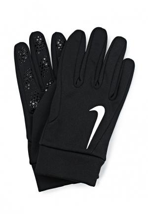 Перчатки Nike. Цвет: черный