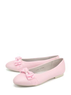 Балетки Антилопа. Цвет: розовый