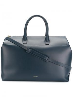 Большая дорожная сумка Mansur Gavriel. Цвет: синий