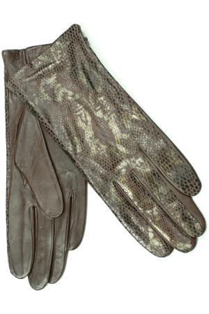 Перчатки Dali Exclusive. Цвет: шоколад
