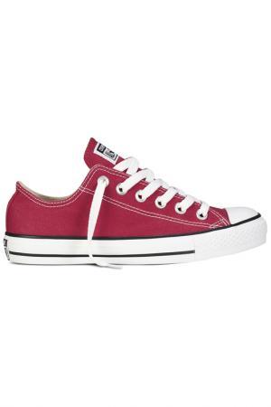 Кеды Converse. Цвет: красный