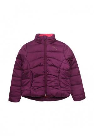 Куртка утепленная Puma. Цвет: фиолетовый
