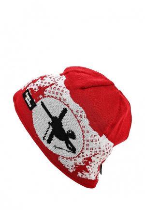 Шапка Kama. Цвет: красный