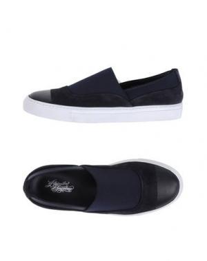 Низкие кеды и кроссовки ALEJANDRO INGELMO. Цвет: темно-синий